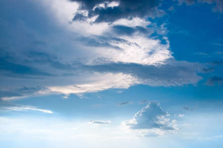 Background with clouds on the sky Stock Photo - 7545241