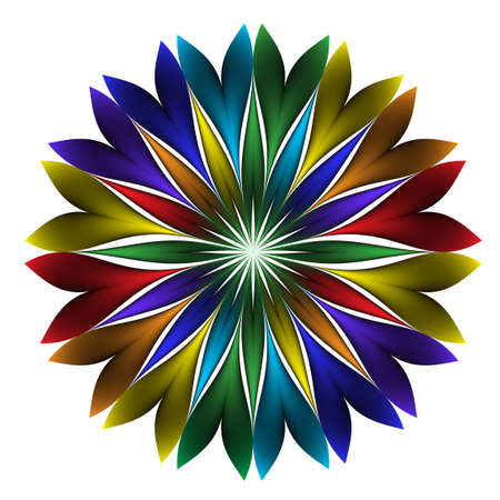 art flower: Abstract   glowing background. For your design. Illustration
