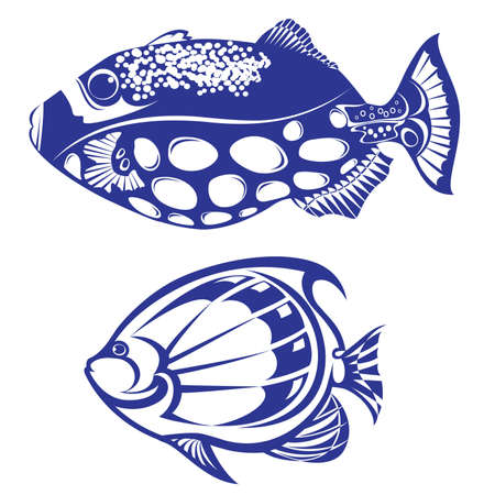 Tropical Fish. Stock Vector - 9081130