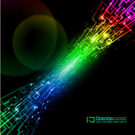 optical fiber: Abstract Internet concept, communication, technology-style background for design.