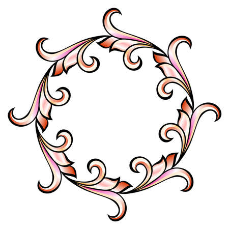 Flora design number ten. Nice design elements for your best creative ideas.