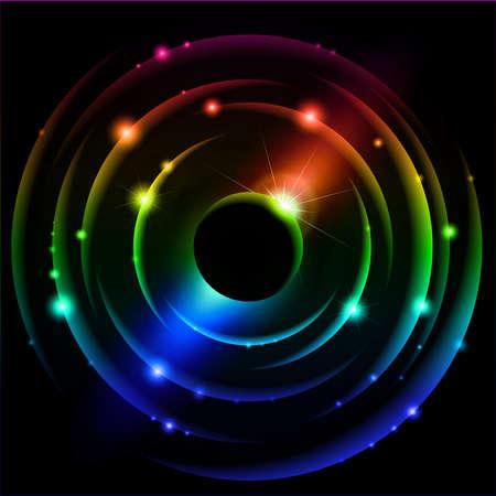 planetarnych: Abstrakcyjna Układu Słonecznego.