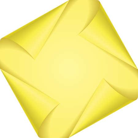 knows: Set yellow page corners.