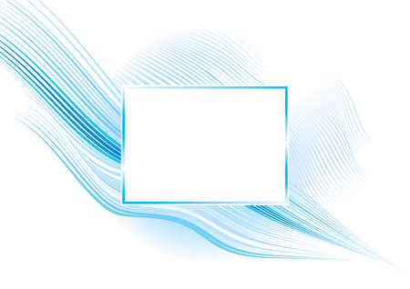illustration of abstract frame background Vector