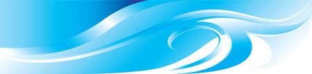 blue flourish background for you design Vector