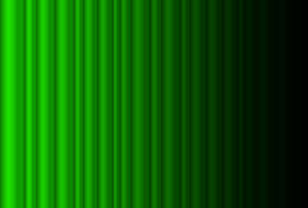Fragment dark green stage curtain. Illustration of the designer  Vector