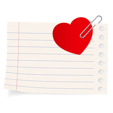 Love letter icon. Illustration on white background Stock Vector - 12349590