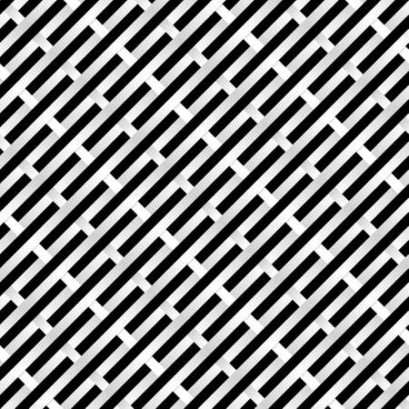 Abstract Black and white Grid. Illustration for design Vector