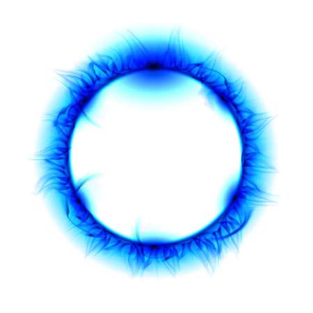 Solar eclipse. Illustration on white background for design illustration