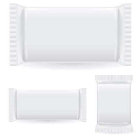 packaging industry: Polipropilen package. Illustration on white background Illustration