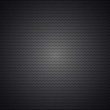 automotive industry: Black carbon lining machines. Illustration for design