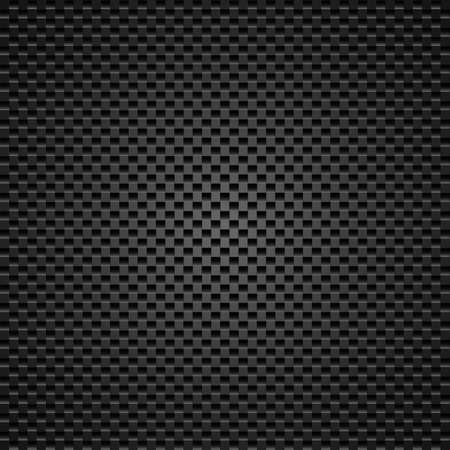 Carbon background of squares illustration designer Vector