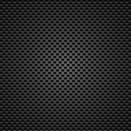 De fondo de carbono de los cuadrados de la ilustración del diseñador Ilustración de vector