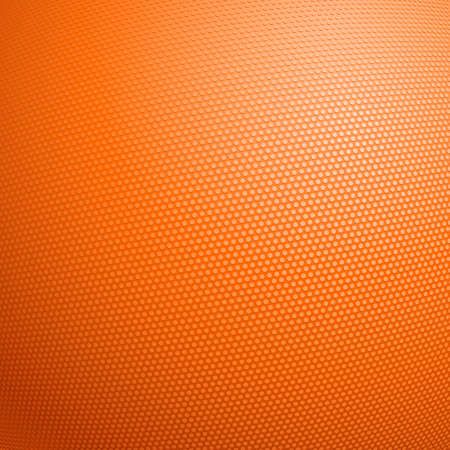 macro: Detailed closeup of the texture of a basketball. Illustration for design Illustration