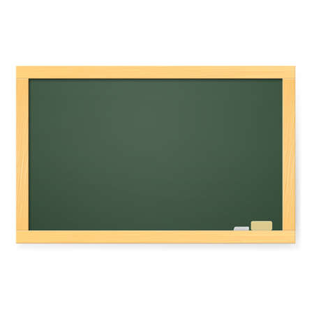 Realistic school board. Illustration on white background Vector