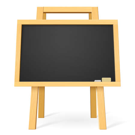slate texture: School board. Illustration for design on white background