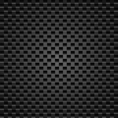 dark fiber: Realistic dark carbon fiber weave background or texture