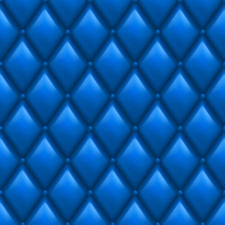 Blue Leather Background. Abstract illustration of designer. Vector