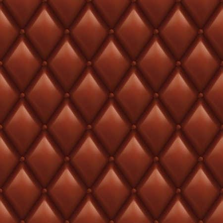 sheepskin: Brown Leather Background. Abstract illustration of designer.