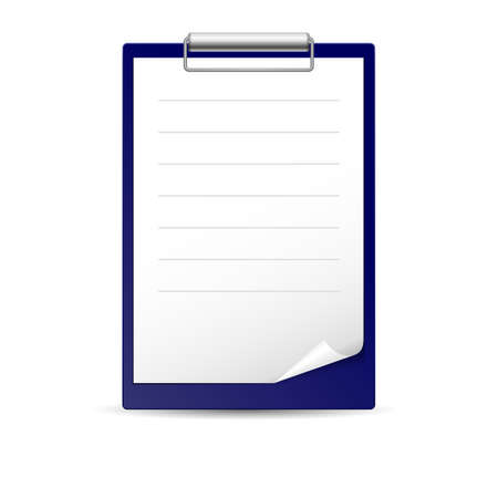 memo pad: Icon for notes, paper for notes on the dark basis