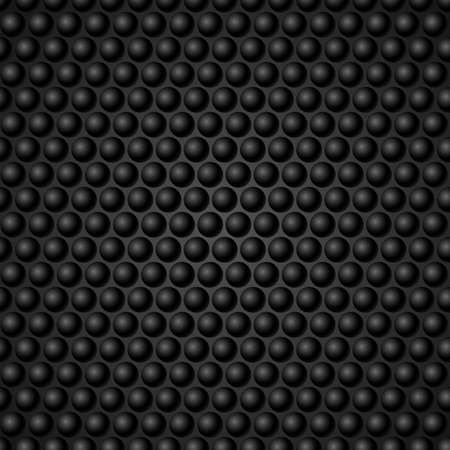 netty: Black Metal Grid Background. Illustration for design Illustration