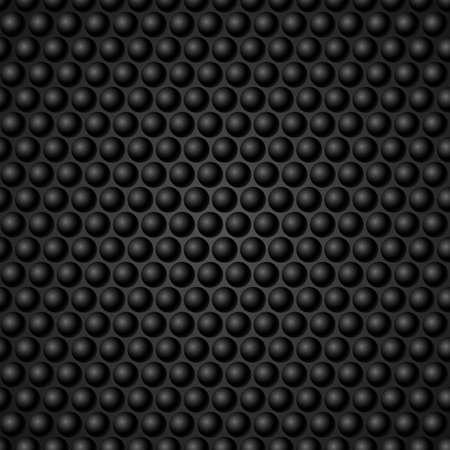meshy: Black Metal Grid Background. Illustration for design Illustration