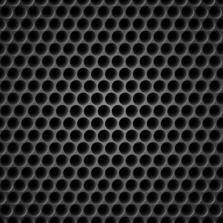 grating: Black Cell Metal Background. Illustration for design Illustration