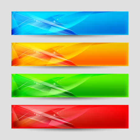 Web Panels Form an Abstract Background. Stock Vector - 16955065