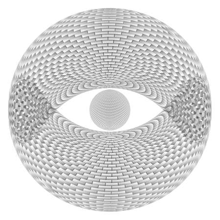 Eye Sphere.  Illustration on white background  for design Stock Vector - 17319193