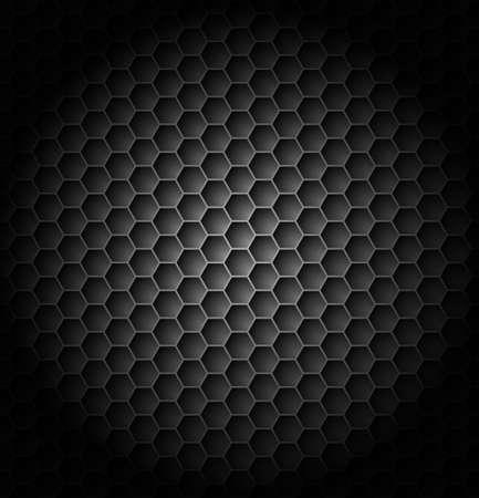 Realistic black carbon. Illustration for creative design Stock Vector - 17620993