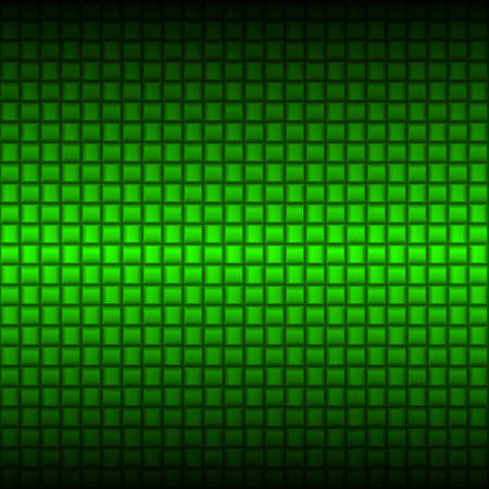 metal mesh: Metalic green industrial texture. Illustration for design Illustration