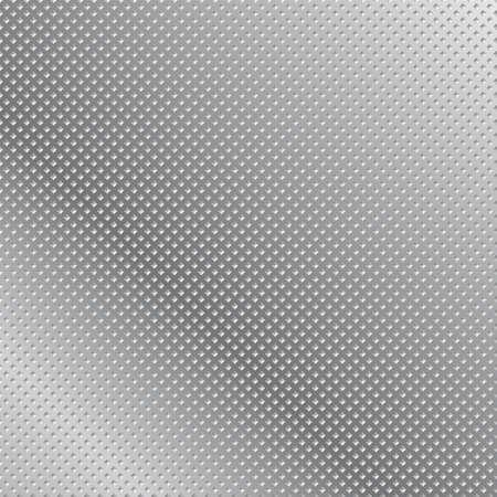 創造的な設計のための金属グリッド背景抽象イラスト  イラスト・ベクター素材