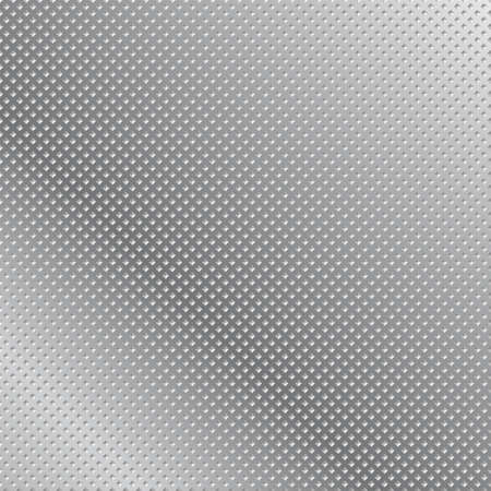 Metal grid background  Abstract illustration for creative design Ilustração