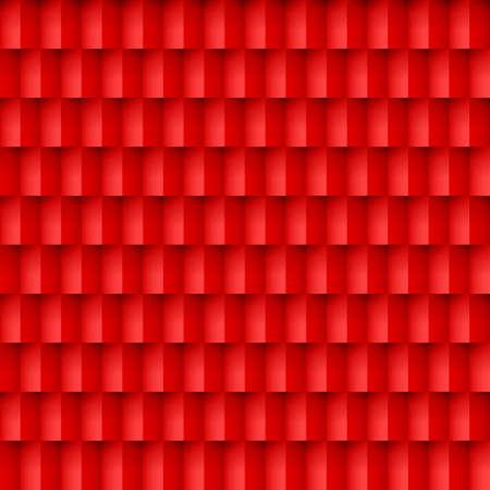 Résumé de fond de briques rouges. Modèle dans un style géométrique.