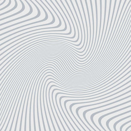 stripe striped: Abstract background of distorted lines in grey and white colors Illustration