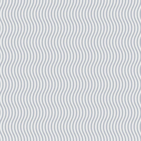Abstract background of grey and white wavy lines Vector