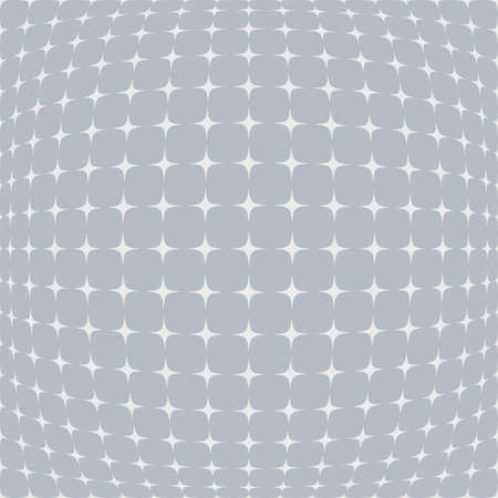 salient: Abstract star background with bulgy effect in white and grey shades