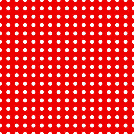spotty: Seamless dotted pattern in red and white colors