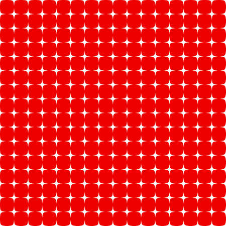 Seamless star pattern in red and white colors Vector