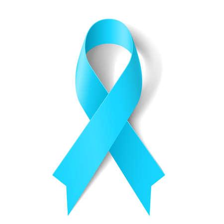 gaza: Cinta azul de luz como símbolo de la conciencia del cáncer de próstata, enfermedad de Graves Vectores