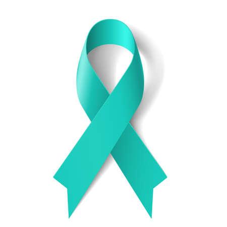 Cinta del trullo como símbolo de la esclerodermia, el cáncer de ovario, alergia a los alimentos, las víctimas del tsunami, enfermedad renal, assualt sexual Ilustración de vector
