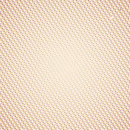 Abstract light background with small dots pattern in peach color Vector