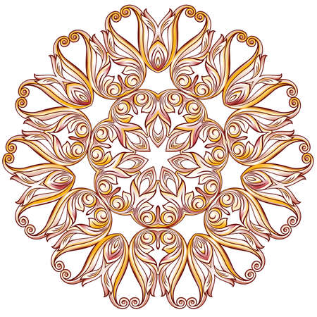 pastel shades: Floral pattern in pastel rose pink shades Illustration