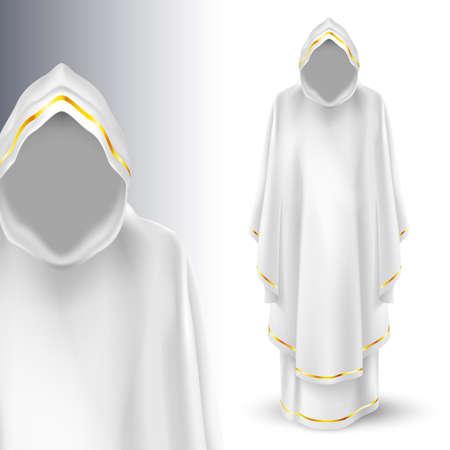 messengers of god: God  guardian angel in white. God. Archangels