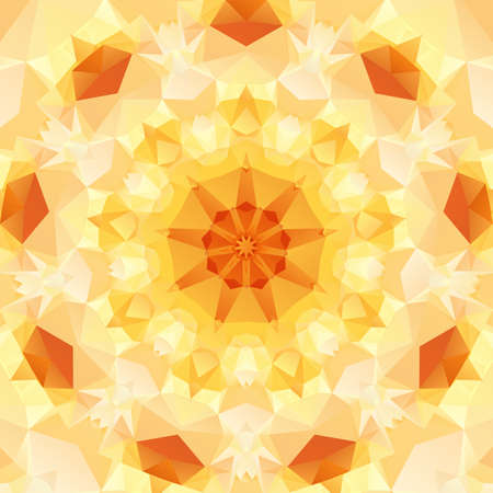 multifaceted: Multifaceted on an abstract pattern of regular geometric shapes