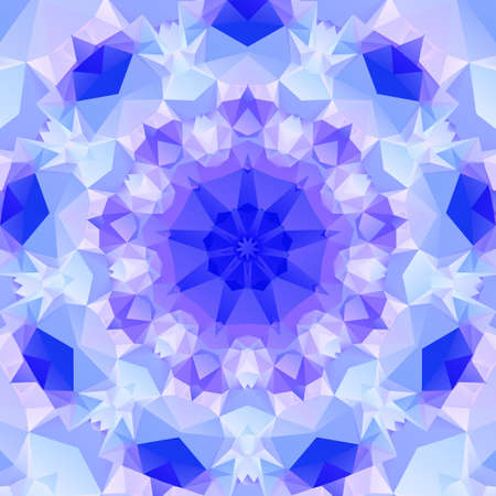multifaceted: Multifaceted purple pattern  of regular geometric shapes