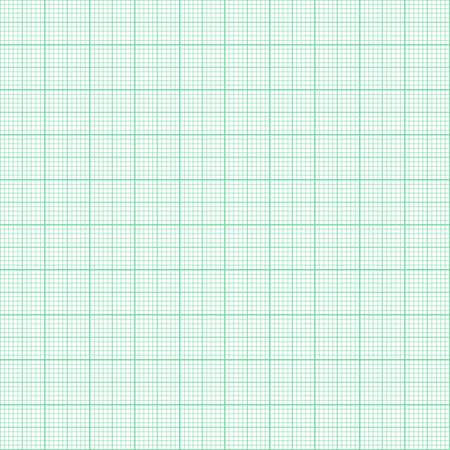 millimeter: Grean millimeter paper Illustration