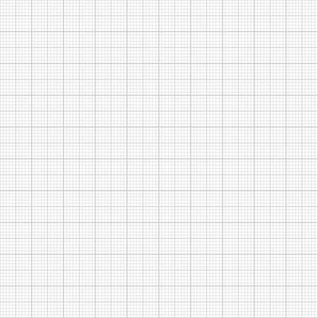 millimeter: Grey millimeter paper Illustration