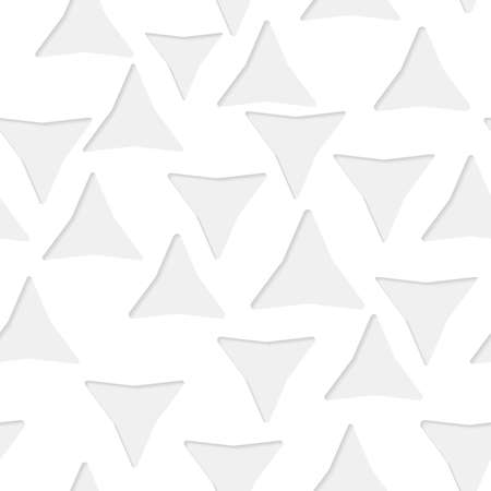 seamless paper: Seamless paper pattern with little gray triangles on white background