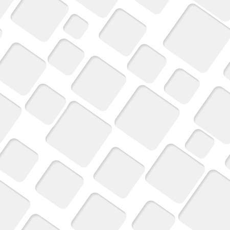 seamless paper: Seamless paper pattern with gray quadrates on white background